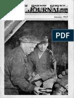 Military Railway Journal January 1957