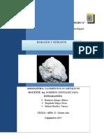Boratos y Nitratos 1