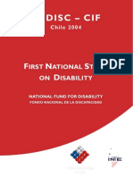 First National Study on Disability