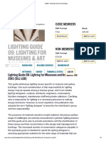 Lightning Guide for Museums