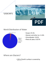 glaciers ppt