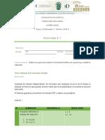 Actividad 2.1 Sistemas de Ecuaciones