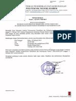 Pengumuman Kelulusan Seleksi Cpns Polije