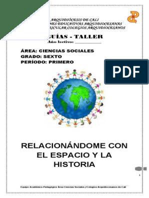 C Sociales 6 Libro Planetas Tierra