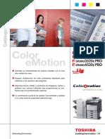 Toshiba Catalogo e STUDIO2330c 2820c 3520c 4520c PRO