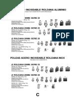 Catalogo de Poleas Herrainox 2017