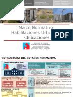 Normas de Habilitación Urbana y de Edificaciones Procedimiento Administrativo