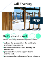 wall framing power point