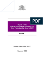 Report of the Special Commission of Inquiry into Child Protection Services in NSW, Wood Report v I