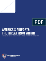 Americas Airports the Threat From Within