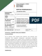 Kp 3 Prep Itinerary