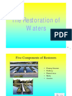Restoration of Waters