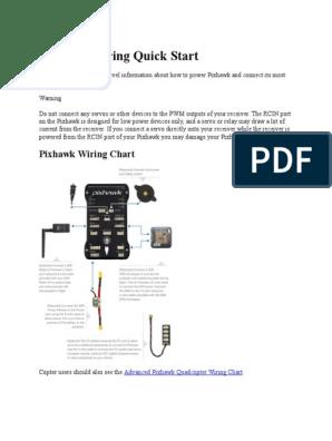 Pixhawk Quick Start | Flight Dynamics (Fixed Wing Aircraft