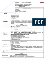 Estructura Del Informe Final Proyecto III Enero 2016