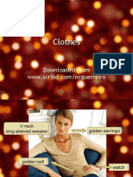 VOCAB Clothes