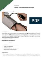 Cómo Tratar La Presión Arterial Alta Con Remedios Naturales _ EHow en Español