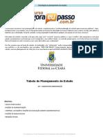 Plano de Estudos Ufc