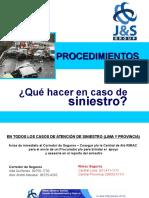 Procedimientos Reporte de Siniestro j&s Group