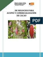 Plan de Negocios Para Acopio y Comercializacion de Cacao