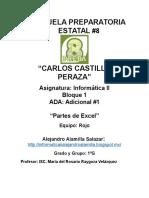 Ambiente Excel Alejandro Alamilla Salazar