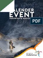 Kalender Event Pariwisata Nasional Tahun 2017