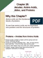 26 CH243 Amino Acids & Proteins