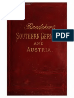 Baedeker's guide to South Germany and Austria (1891)