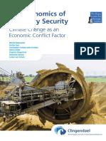 Hague Centre for Strategic Studies - Nov 2016 - The Economics of Planetary Security ~ Climate Change as an Economic Conflict Factor