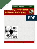 RDE Manual 2006