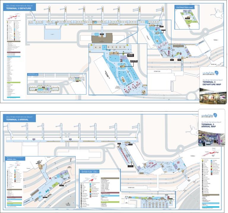 abu dhabi terminal 1 map Terminal 3 Map2 2015 R3 Tcm13 4102 Transport Companies abu dhabi terminal 1 map