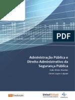 Administração Pública e Direito Administrativo Da Segurança Pública