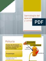 Semiología de Aparato Renal y Urinario