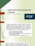 Ejercicios Estructura de Capital