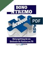 Bono 4 Retargeting Del Embudo de Ventas Con Facebook Ads