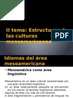 Estructuras de Las Culturas Mesoamericanas