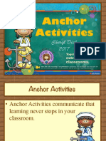 Anchor Activities 2017 Handout