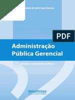 Administração Pública e Gerencial
