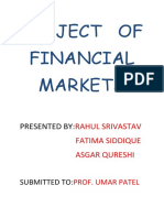 Project of Financial Markets