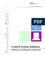 Geh 6407 Control System Solutions (Maintenance and Diagnostics Applications)