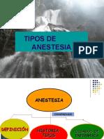 Anestesia IV