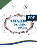 Plan Nacional Salud 2016-2020