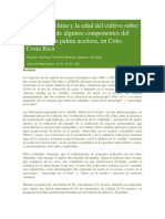 Sterling Et Al 1997 Efecto Del Clima y La Edad Del Cultivo Sobre La Varianza de Algunos Componentes Del Racimo de La Palma Aceitera