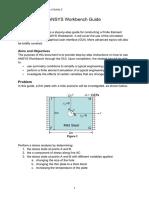 Tutorial Week 3c - MECH3361 Workbench Guide.pdf