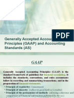 Generally Accepted Accounting Principles (GAAP) And