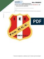 Examen de Fdcc 4to Grado