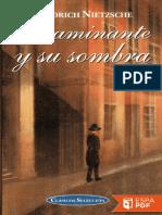 El Caminante y Su Sombra Friedrich Nietzsche