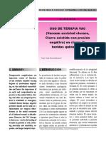 Uso de Terapia VAC