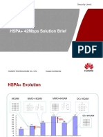 HSPA+ 42Mbps Solution Brief - 20120917