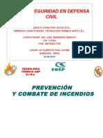 Prevención Incendios y Uso de Extintores