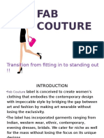 Fab Couture Ppt